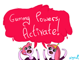 Gummy Powers ACTIVATE by PolitosBurritos