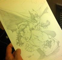 BCC 2010 Invincible and Batman by RyanOttley