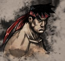 Street fighter Ryu by WackoShirow