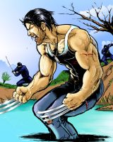Wolverine in japan by Henry7