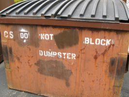 do not block dumpster by StayFreshIceland