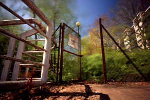 KEEP OUT by paddimir