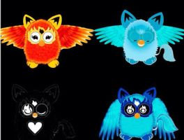 My furbys by furbyrock04