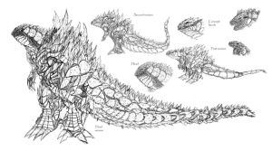 Gojira concepts by Ra88