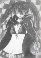 Black Rock Shooter by RyuujiTakeshi