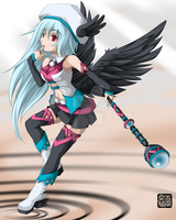 +Black Winged Seraph by Wanganator