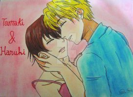 Tamaki and Haruhi by MangakasSisters