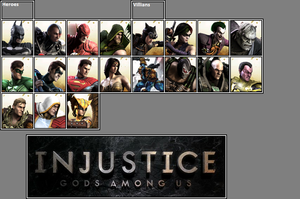 Official Injustice: GAU Roster as of 3-2-13 by xXKyraRosalesXx