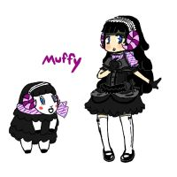 Animal Crossing- Muffy by Lu-WeeGee