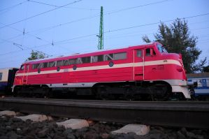 Nohab M61 001 at Gyor by Seth890603