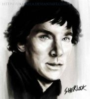 Sherlock Birthday Painting by ukalayla