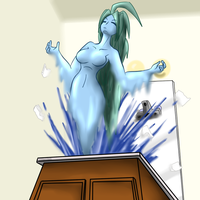 Water Damage by DoodleDowd