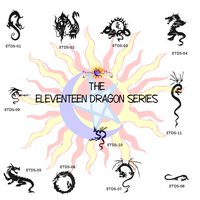 Eleventeen Dragon Series by Catdragon