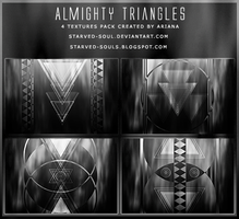 Almighty Triangles Textures Pack By Starved-soul by Starved-Soul