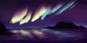 Northern Lights by Aeiryse