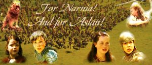 For Narnia, and for Aslan by Lexxa24