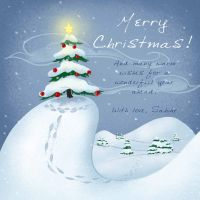 Christmas Card 2 by Sabinerich