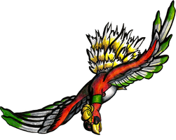 Ho-oh Flying by Ho-ohLover