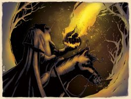 Headless Horseman by AdamGuzowski