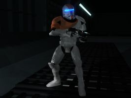 Clone Commando Boss RC-1138 by TheDualCore