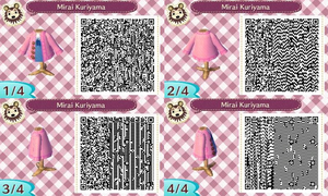 Mirai Kuriyama Animal Crossing QR Code by TeaganLouise