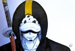 Trafalgar Law ~ One Piece by Xx-Sado-xX