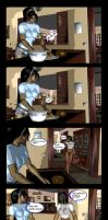 Mileena and Kitana Comix - Breakfast sisters by ShizzyZzZzZzART