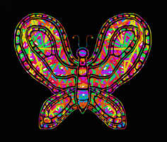 Butterfly (acid) by katiejo911