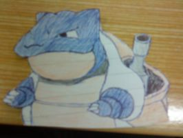 Blastoise - colour and crop by shadow-wolf04