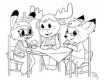 The Antler Club by Sparkle-And-Sunshine