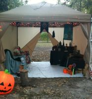 Deathly Hallows tent by GenineMalfoy
