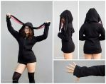 Bunny Hoodie by HelenQuila