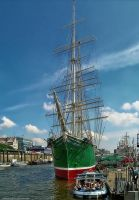 Monument Ship-Rickmer Rickmers by pingallery
