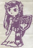 X-Stitch Fanart- 4th Zelda by missy-tannenbaum