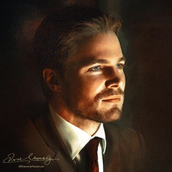 Stephen Amell by artistamroashry