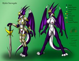 Rykin redesign reference Commission by Snowfyre