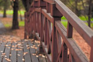 Wooden bridge by marcinadamski