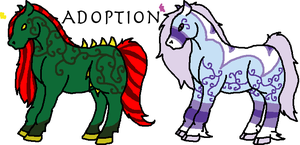 Stallion Adoption -1 Left- by KaurauTheFox