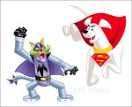 Krypto and Mechanikat-01 by johnbeatty