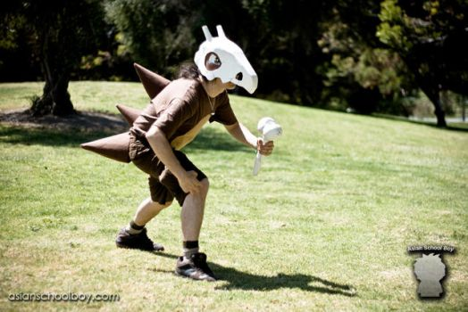 Pokemon Cubone - In the Field by MidnightMist