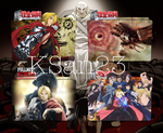 Fullmetal Alchemist (Brotherhood) Packaged Icons by KSan23