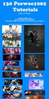 130 Tutorials for download by peewee1002