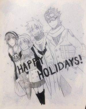 Happy Holidays every1 by Blazing0Pixel