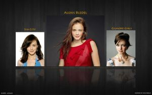 Alexis Bledel Wallpaper by mZoleee
