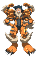 Machamp and Arcanine suit 03