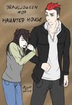 Drawlloween 2015 - Day 07 - Haunted house by Migi47
