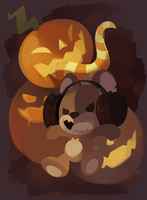 Pumpkin Freak by HappyCrumble