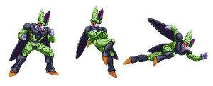 Perfect Cell Z2 (second concept) by barker09
