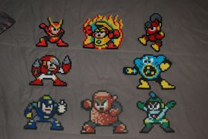 Megaman 2 Robot Masters by evilpika