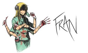 Fran from Franken Fran by darkness127
